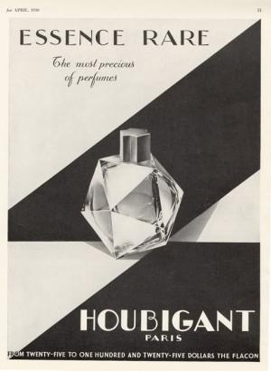 houbigant essence rare vintage perfume review bois de