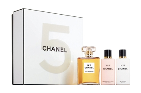 chanel 5 gift set. chanel no 5 gift set with body lotion and gel .