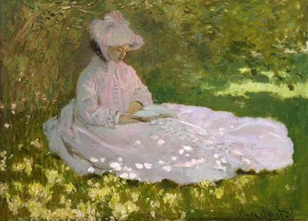 Monet-Springtime