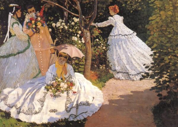 Monet-women-garden
