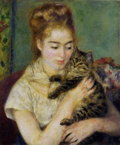 woman-with-a-cat