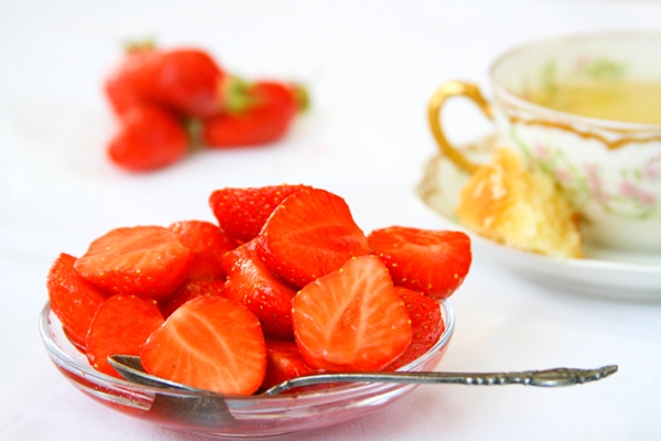 Orange-Flower Pavlovas With Strawberries Recipes — Dishmaps