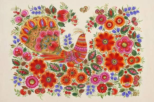 Petrykivka Ukraine S Vibrant Treasure 171 Bois De Jasmin