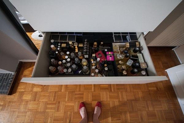 perfume drawer