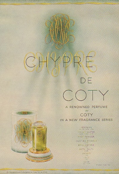 coty chypre ad