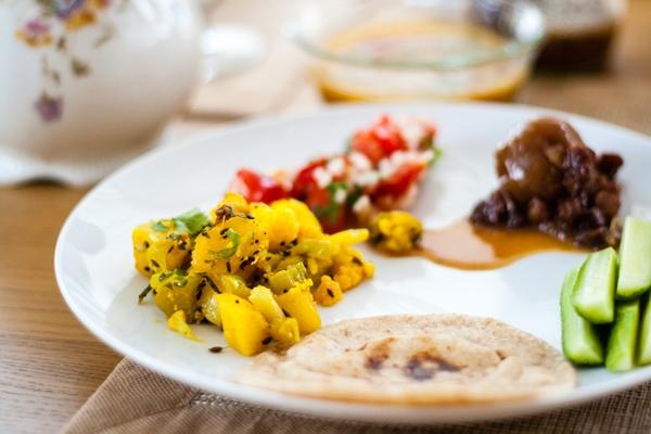 meal w chapati