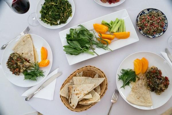 Menu For A Georgian Feast With Three Cookbook Reviews Bois De Jasmin