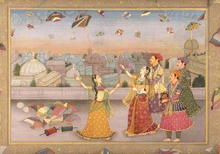 Begum_oudh_flying_kite