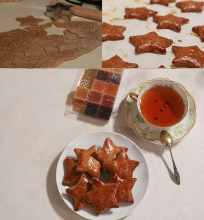 Gingerbread collage2