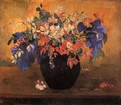 Gaugin bouquet of flowers