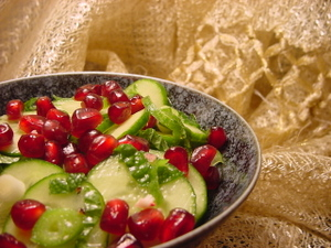 Mint_pomegranate_cucumber_salad